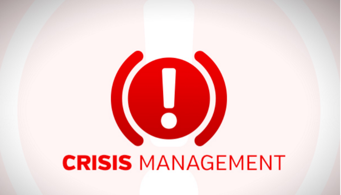 THE ART OF CRISIS MANAGEMENT