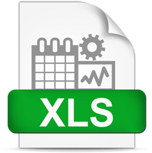 excel download icon